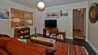 Wallace Street, South Tampa-Living Room