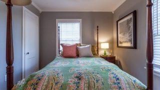 Henry St. Tampa guest bed