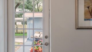 French Door Side Entrance