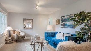 Mid Century Style Living Room