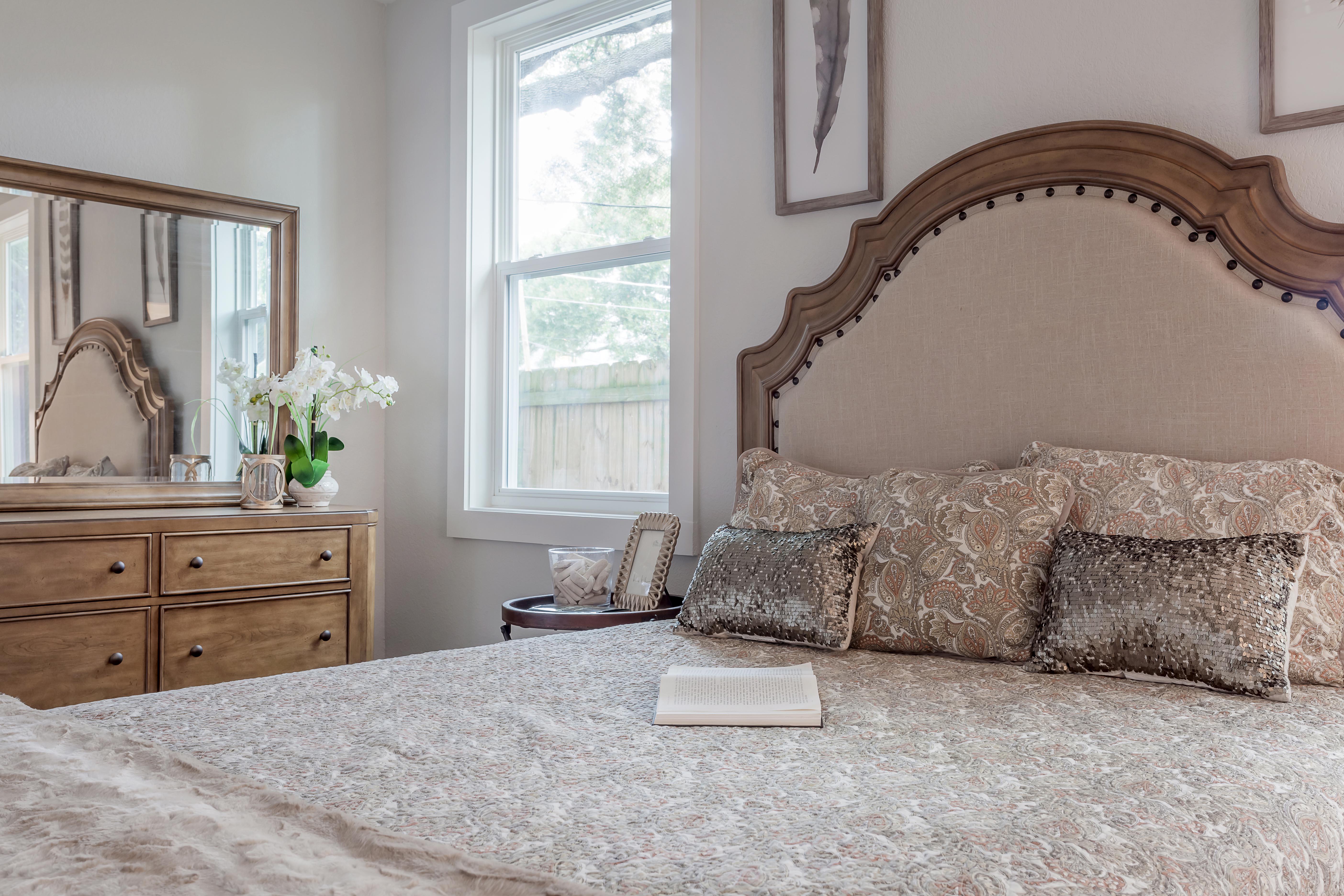 Furnished Master Bedroom