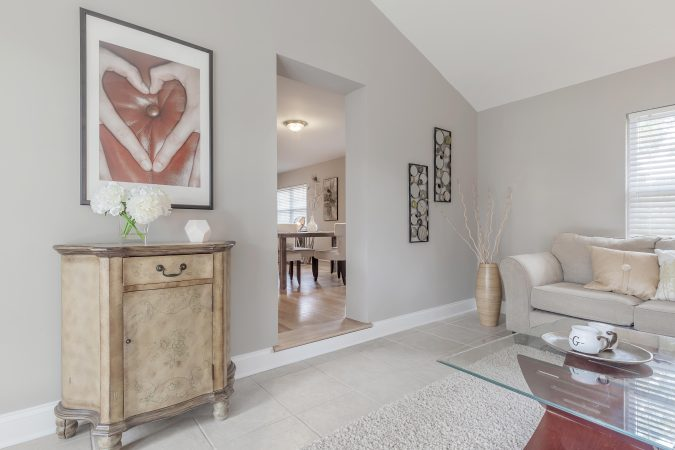Staged Family Room