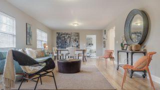 Furnished & Staged Living Room