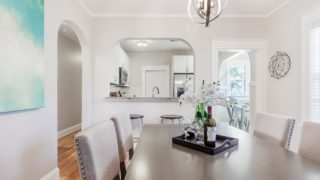 Dining Room staged by Cardinal Designs