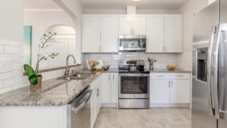Kitchen staged by Cardinal Designs