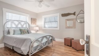 Bedroom staged by Cardinal Designs