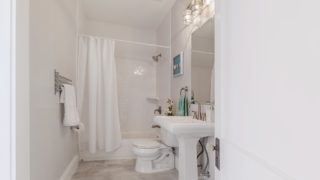 Guest Bathroom staged by Cardinal Designs