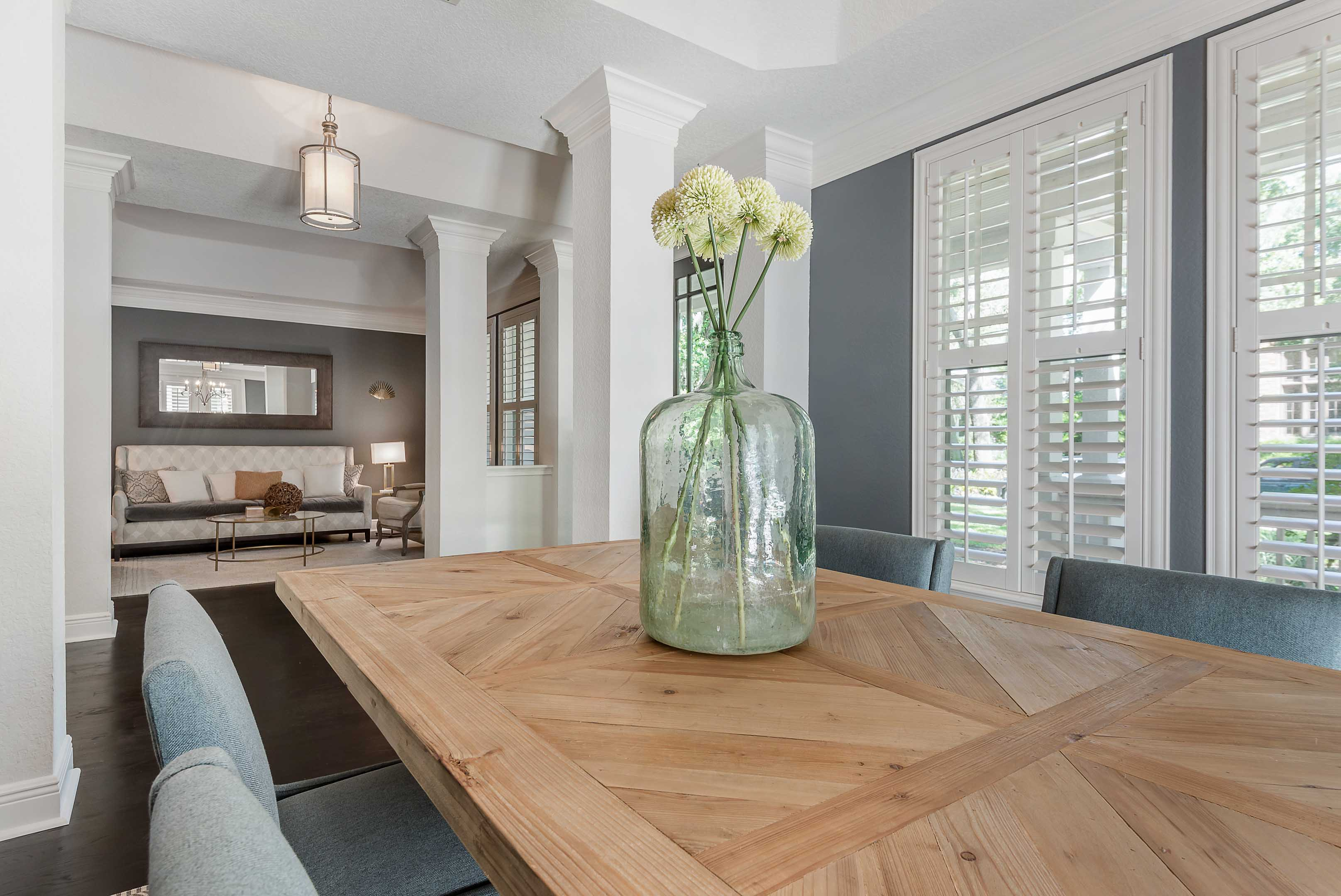 Modern Glam Meets Farmhouse Cardinal Designs Home Staging
